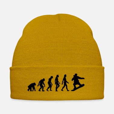 Charles Darwin The Evolution of Snowboarding - Winter Hat