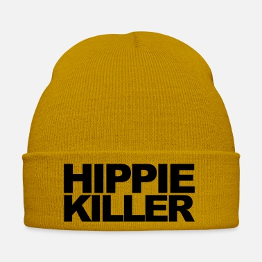 Hippie Hippie Killer Funny Quote - Cappello invernale