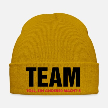 Team Player great team makes another's crew team player - Winter Hat