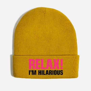 Hilarious relax in hilarious hilarious yes we cannabis tbbt - Winter Hat