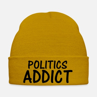 Politics politics addict - Winter Hat