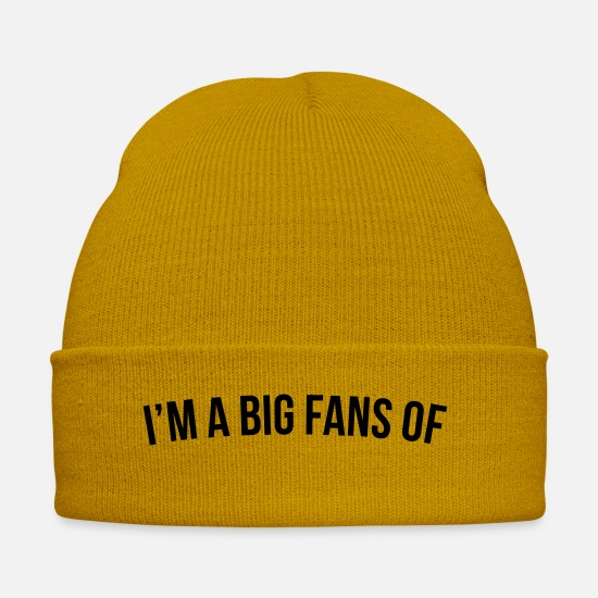 Big Ben Caps & Hats - BIG FANS - Winter Hat mustard yellow