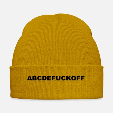 Fuck You ABCDEFUCKOFF disant baise signifie baise baise toi cool - Bonnet