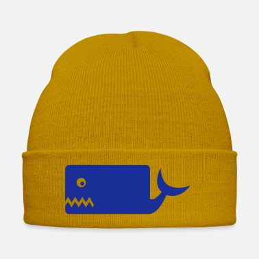 Mammal grim whale fish water sea lake whales mammal - Winter Hat