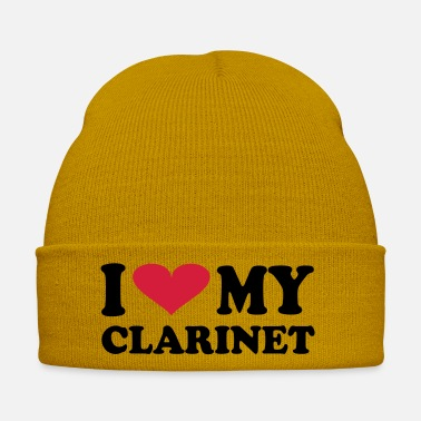Bass Clarinet I love My Clarinet - Winter Hat