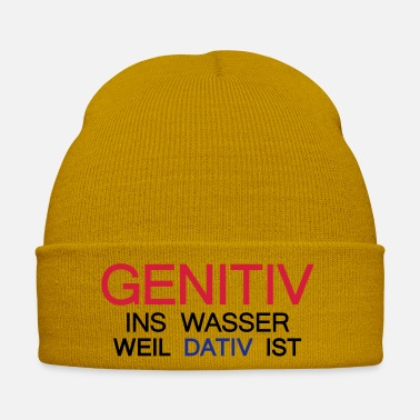 Uni Genitive into the water because dating is, UNI, - Winter Hat