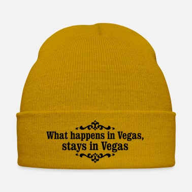 Vegas what happens in Vegas ... - Winter Hat