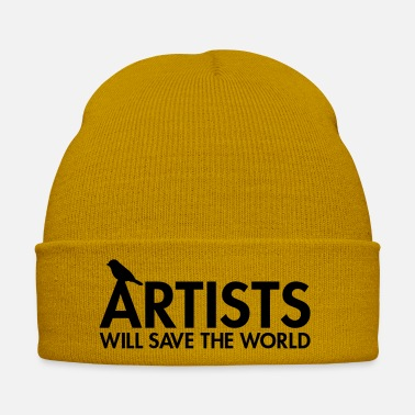 Save The World Artists will save the world - Winter Hat