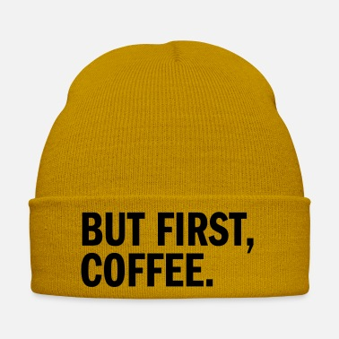 First But First Coffee - Winter Hat
