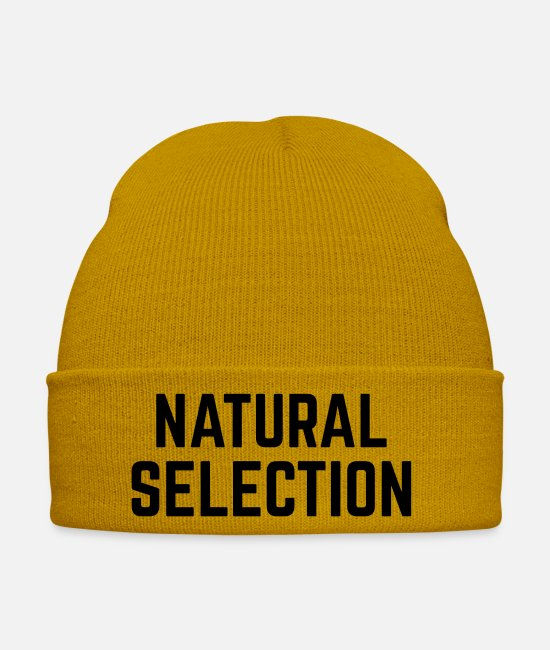 Usa Caps & Hats - NATURAL SELECTION - Winter Hat mustard yellow