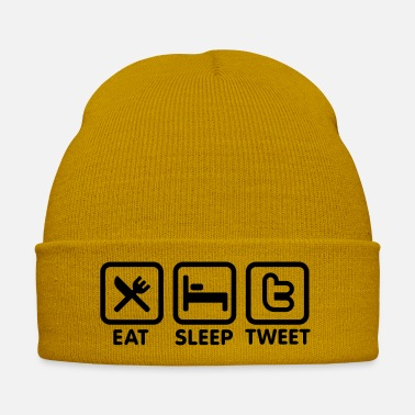 Community Eat sleep Tweet - Bonnet