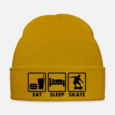 Skate Skate eat sleep skate - Bonnet