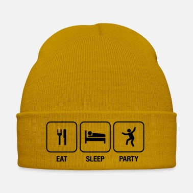 Berlin Eat, Sleep, Party - Winter Hat