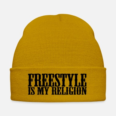 Adrenalin Junkies freestyle is my religion - Winter Hat