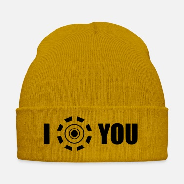 Ironia I love you Iron Man - Cappello invernale