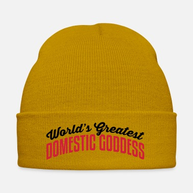 Goddess worlds greatest domestic goddess 2col co - Winter Hat
