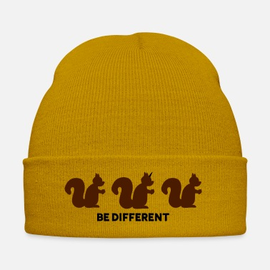 Be Different Be different - Scoiattolo unicorno - Cappello invernale