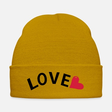 Red Heart LOVE TXT red heart - Winter Hat
