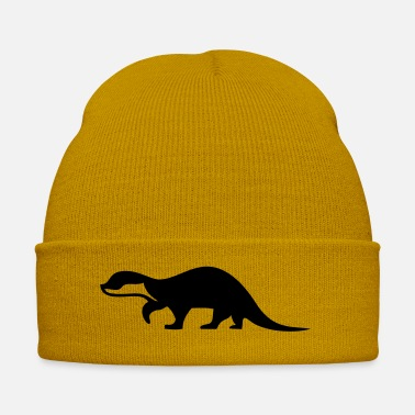 Otter Shadow Otter - 1 color vector - Winter Hat