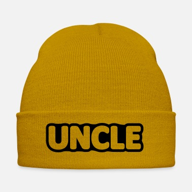 Uncle pregnant / / Uncle / / Shirt surprise for Uncle - Winter Hat