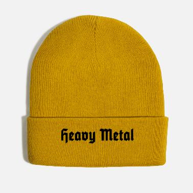 Black Heavy Metal - Winter Hat
