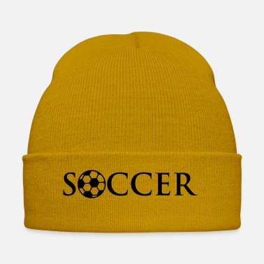Soccer Ball Soccer Ball Logo Design - Wintermütze