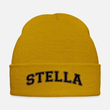 Stella stella name arched college style text - Winter Hat