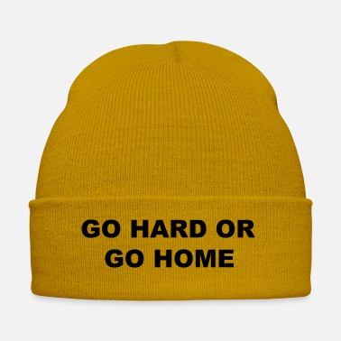 Go Go Hard or Go Home - Winter Hat