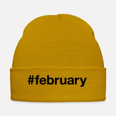 February FEBRUARY - Winter Hat