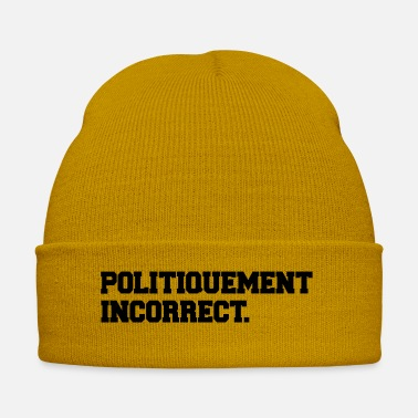 Politics political incorrect - Winter Hat