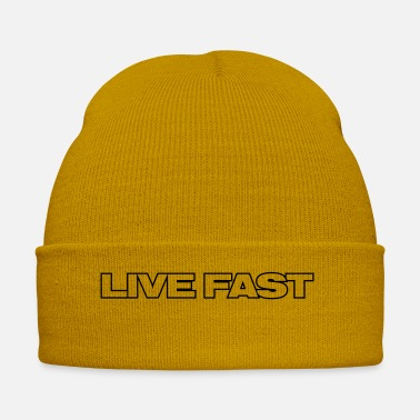 Fast LIVE FAST - Winter Hat