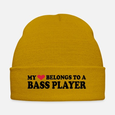 Bass Clarinet MY HEART BELONGS TO A BASS PLAYER - Winter Hat