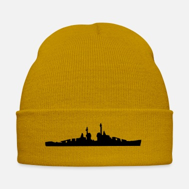 Pescatore Vector Navy Warship Silhouette - Cappello invernale