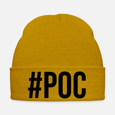 Proverbi Hashtag People of Color (PoC) - Cappello invernale