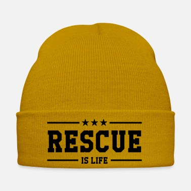 Rescuer Rescue Retter Secourisme Secouriste - Winter Hat