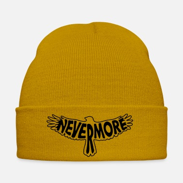 Midnight Nevermore Outline - Winter Hat