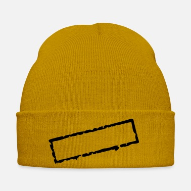 Postmark stamp_I_vec_1 en - Winter Hat