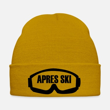 Deep Snow Ski, ski, skiing, après ski, freeski, winter, snow - Winter Hat