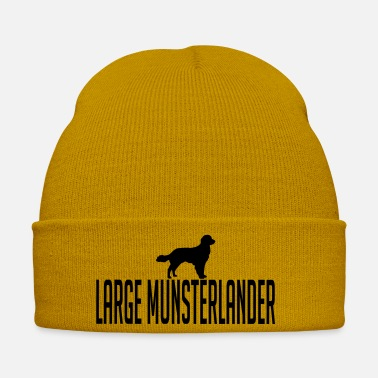 Large LARGE MUNSTERLANDER dog - Winter Hat