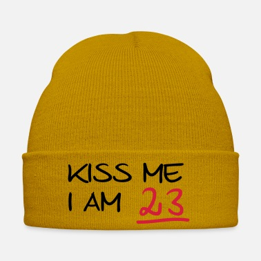 Bursdag kiss me i am 23 birthday (fr) - Bonnet