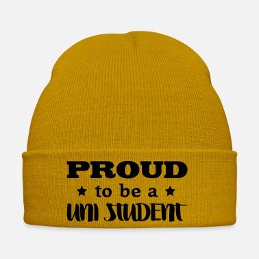 Uni uni student proud to be - Winter Hat