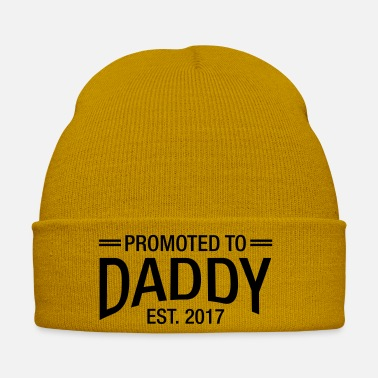 Est Promoted To Daddy Est. 2017 - Cappello invernale