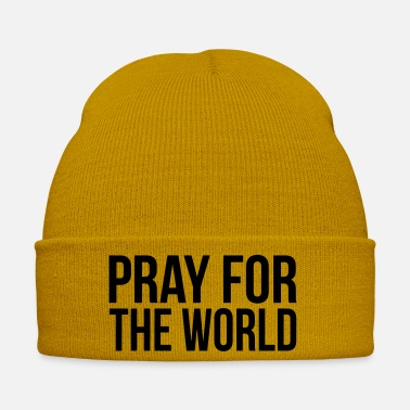 Pray PRAY FOR THE WORLD (PRAY FOR THE WORLD) - Winter Hat