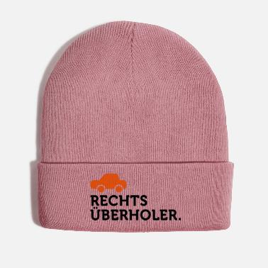 Macho Macho Quotes: I overtake right! - Winter Hat