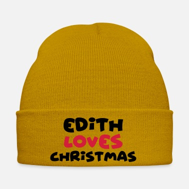 Edith edith loves christmas xmas name - Winter Hat
