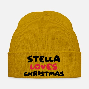 Stella stella loves christmas xmas name - Winter Hat