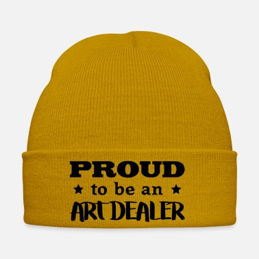Original Art art dealer proud to be - Winter Hat