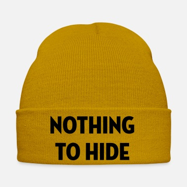 Swag Style Nothing to Hide / Style / Mode / Swag / Vogue - Winter Hat