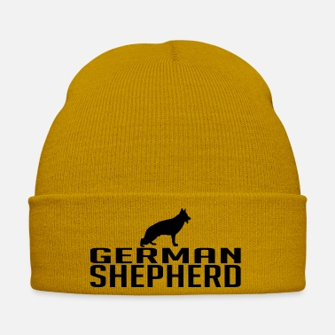 Shepherd GERMAN SHEPHERD dog - Winter Hat