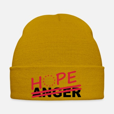 Hope over anger - Winter Hat
